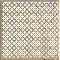 M-D Building Products 56016 .020-Inch Thick 1 2-Feet Cloverleaf Aluminum Sheet, Albras