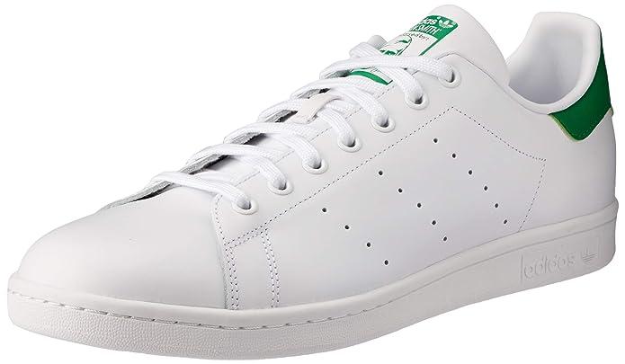 adidas Stan Smith Sneakers Unisex Erwachsene Weiß Grün