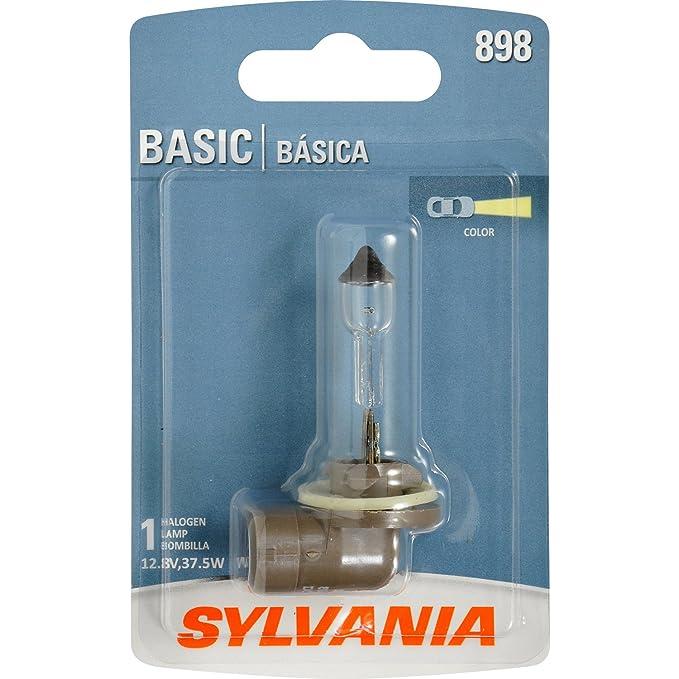 Amazon.com: SYLVANIA 898 Basic Halogen Fog Bulb, (Contains 1 Bulb): Automotive