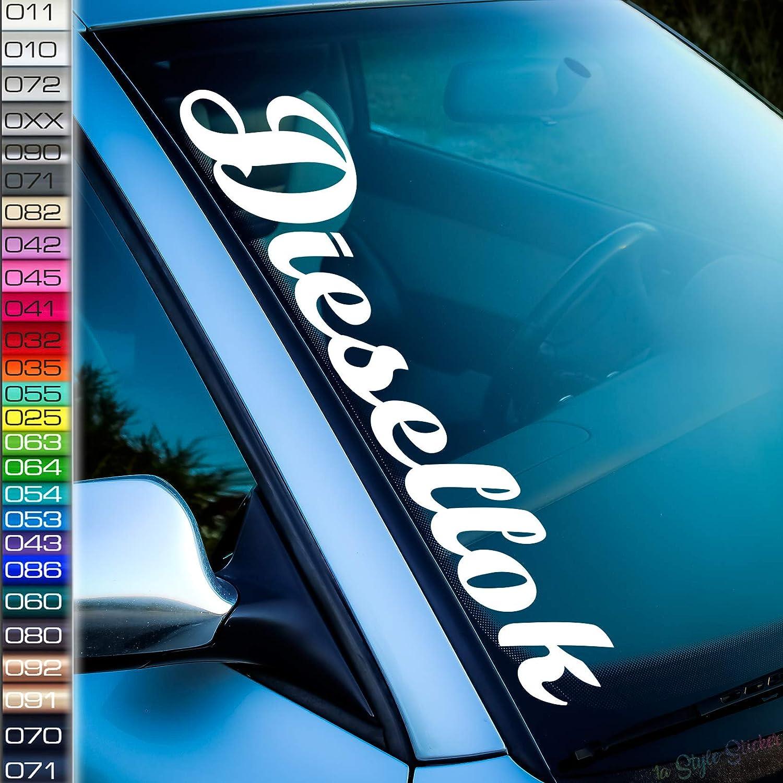 Diesellok Frontscheiben Aufkleber Clubsport Edition Gtd Power Diesel Dapper Stance Low Auto Sticker Ultimate Auto