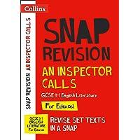 An Inspector Calls: New GCSE Grade 9-1 English Literature Edexcel Text Guide (Collins GCSE 9-1 Snap Revision)