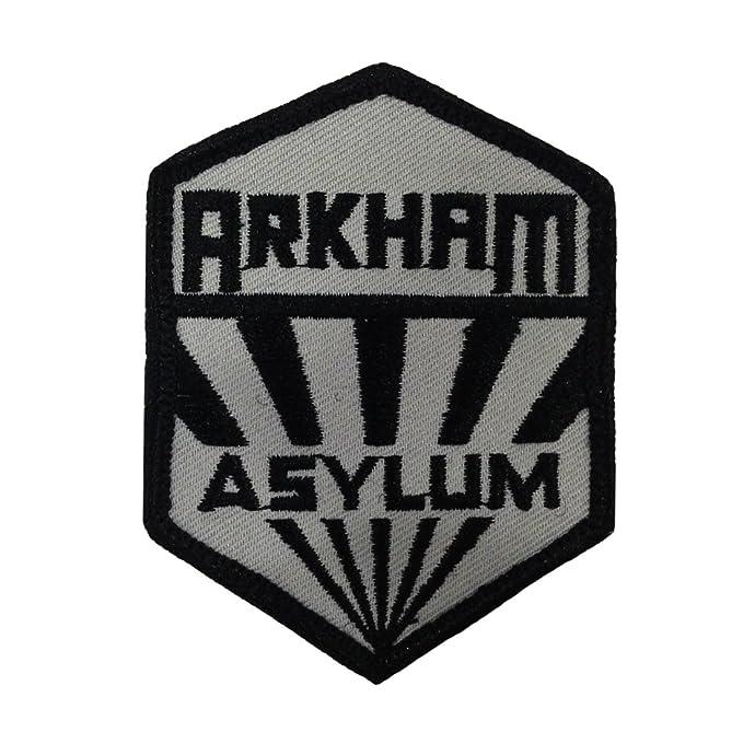 Amazon Batman Arkham Asylum Sanatorium Uniform Logo Patch Clothing