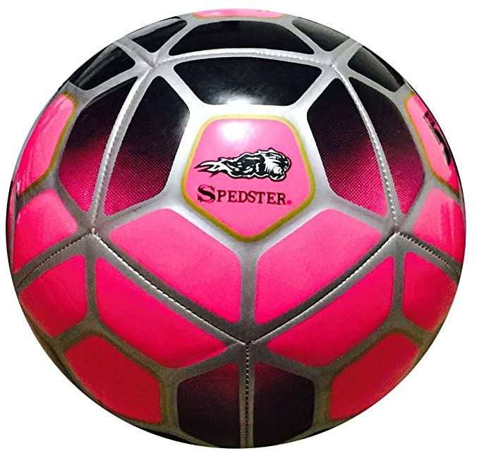 Spedster 2018-19 - Balón de fútbol (talla 5, 4, 31), color rosa, 3 ...
