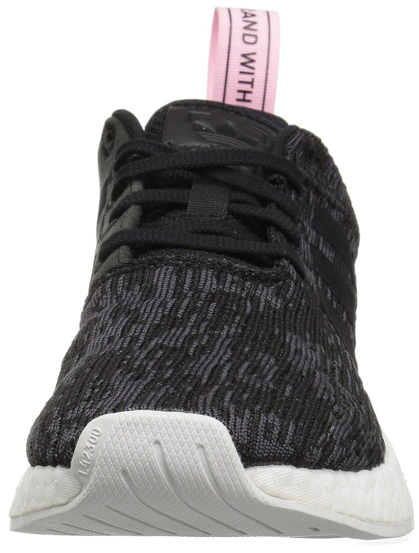 Adidas originali nmd originali r2 w para nero / core core) w