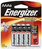 Energizer Max Premium AAA Batteries, Alkaline Triple A Battery (8 Count) E92MP-8