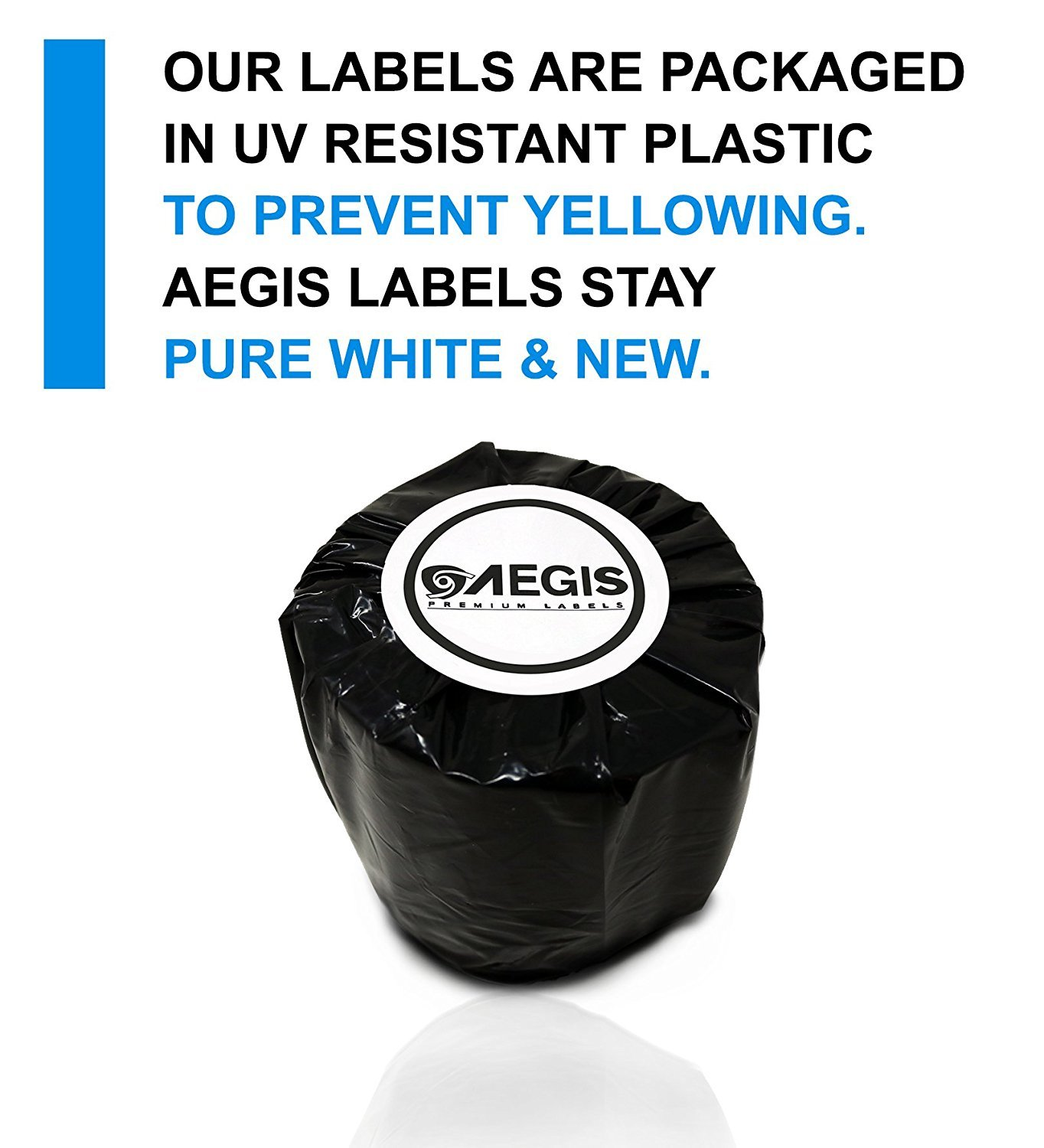 """Aegis Labels - 12 Rolls DYMO 30336 Compatible Small Multipurpose 1"""" X 2-1/8"""" Address & UPC Barcodes Labels for LW Labelwriter 450, 450 Turbo, 4XL (500/Roll)"""