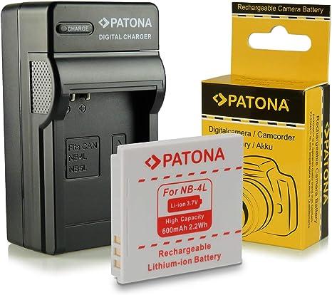 Cargador para Canon Digital IXUS 115hs