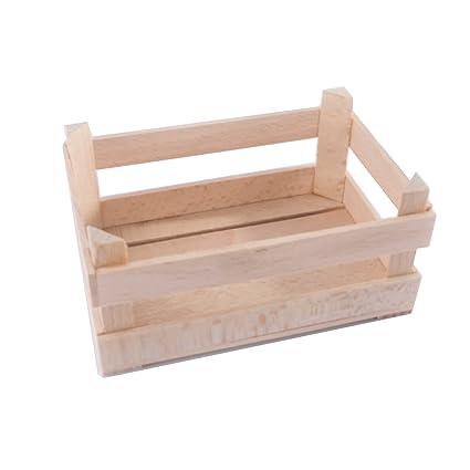 XSmall - Caja de madera decorativa (12,5 x 8,5 x 6
