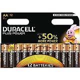 Duracell Plus Power Typ AA Alkaline Batterien, 12er Pack