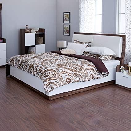 Home Centre Melange King Bed with Hydraulic Storage