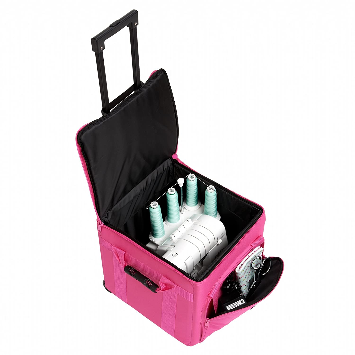 Creative Notions XL Serger Trolley in Pink