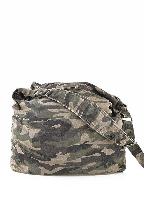Sac Besace Camouflage En Toile Nilac - Redskins KABjgsVZA