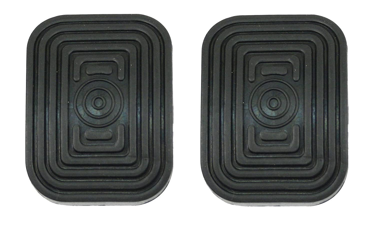 Set of Two 9904-B Empi 1950-1979 Type 1 Beetle Brake and Clutch Pedal Pads