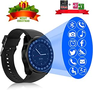 GuaTcy Smart Watch,Bluetooth SmartWatch with Camera Touchscreen,Smart Watches Waterproof Unlocked Phones Watch with SIM Card Slot,SmartWatch ...