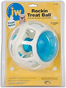 JW Pet Company Rockin Treat Ball for Dogs