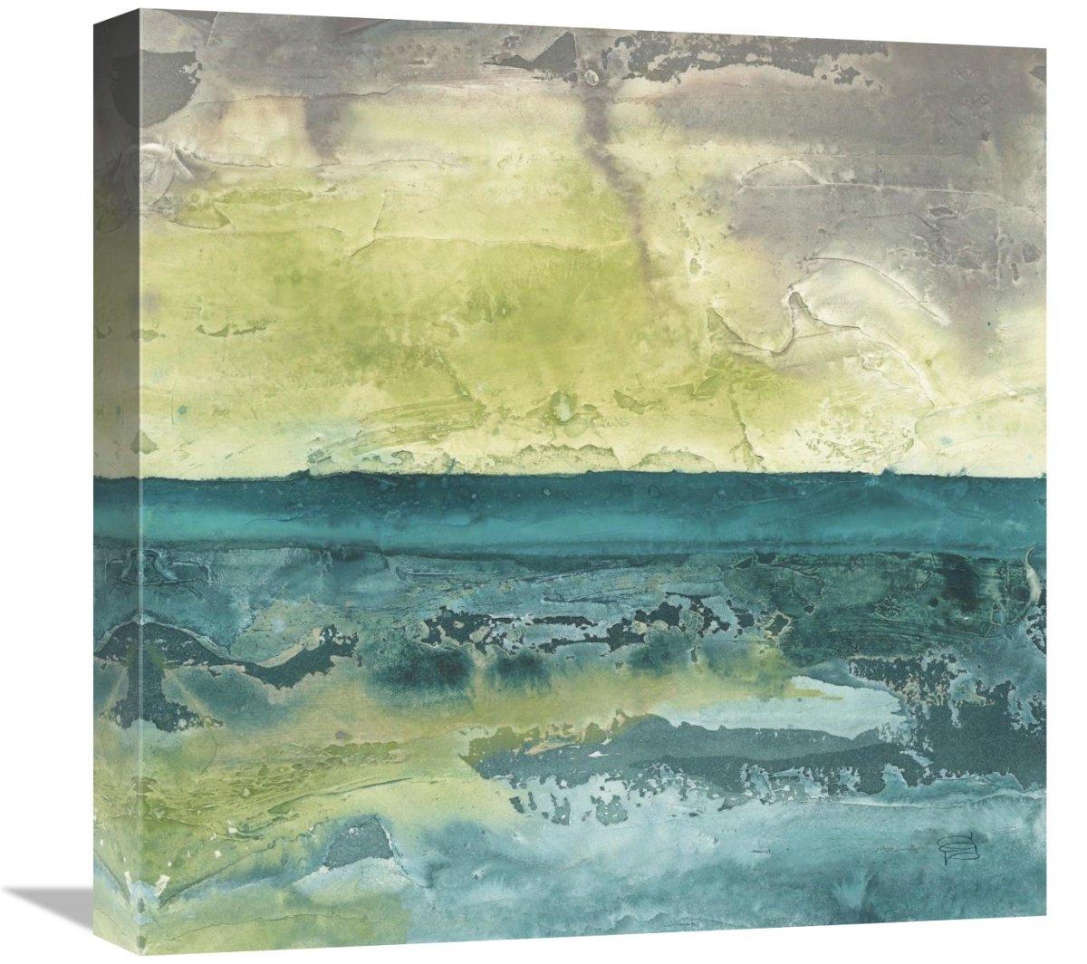 Global Gallery Chris Paschke Beyond The Horizon I Canvas Artwork 18 x 18