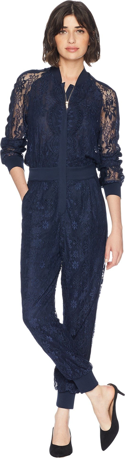 Juicy Couture Women's Kendall Lace Jumpsuit Regal Small by Juicy Couture (Image #1)