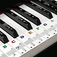 Pegatinas para teclado de piano para llave
