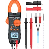Proster Digital Clamp Meter Auto-Ranging Multimeter Clamp TRMS 6000 Counts with NCV AC/DC Voltage Current Continuity…