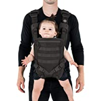 Men's Baby Carrier - Front Baby Carrier - Baby Carrier for Dads - By Mission Critical - Black