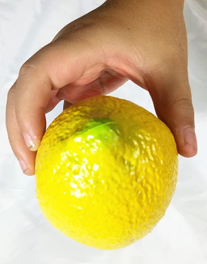 1 pieza de percusión para niños en forma de frutas (limón ...