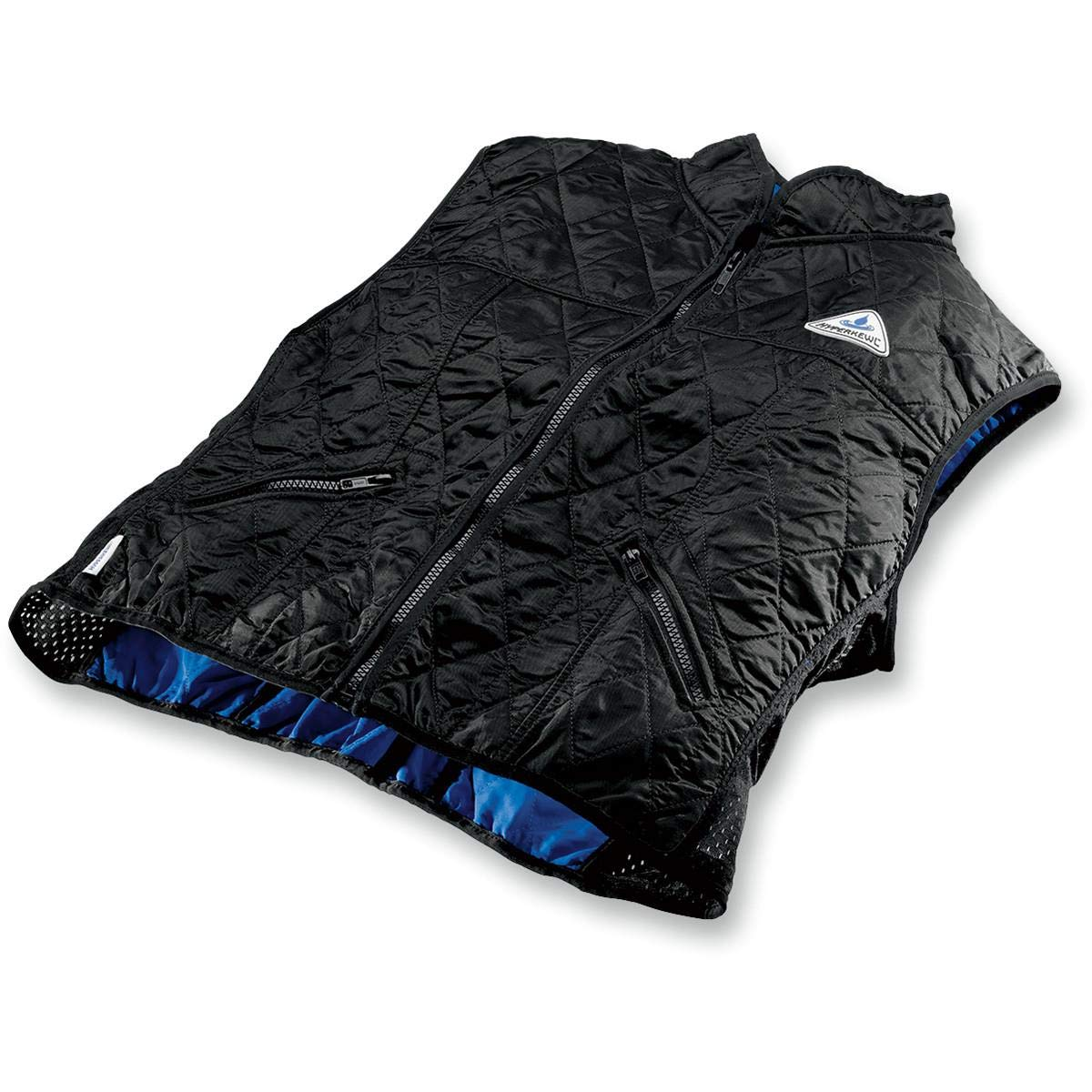 Techniche Womens Hyperkewl Deluxe Cooling Vest , Gender: Womens, Primary Color: Black, Size: Lg, Distinct Name: Black 6530F BK L
