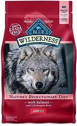 BLUE Wilderness Adult Grain Free Salmon Dry Dog Food 4.5-lb
