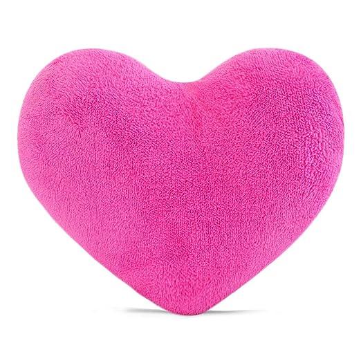 sunyou - Cojín con Forma de corazón para Regalar a Amigos o niños, decoración del hogar