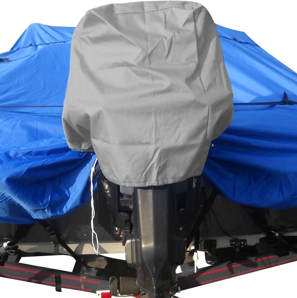 Budge BA-35 Gray Medium Engine Cover for 15 Hp to 25 Hp Stroke Motors