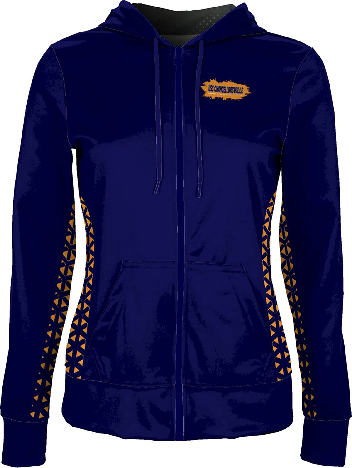 ProSphere Women's USS Chancellorsville Military Geometric Fullzip Hoodie