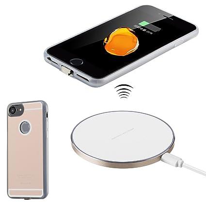Antye Qi inalámbrico Cargador Kit para iPhone 7 Plus/6S Plus/6 ...