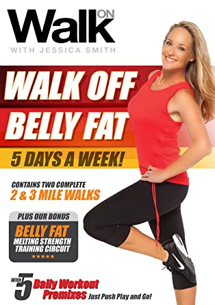 Amazon Com Walk On Walk Off Belly Fat 5 Days A Week With Jessica