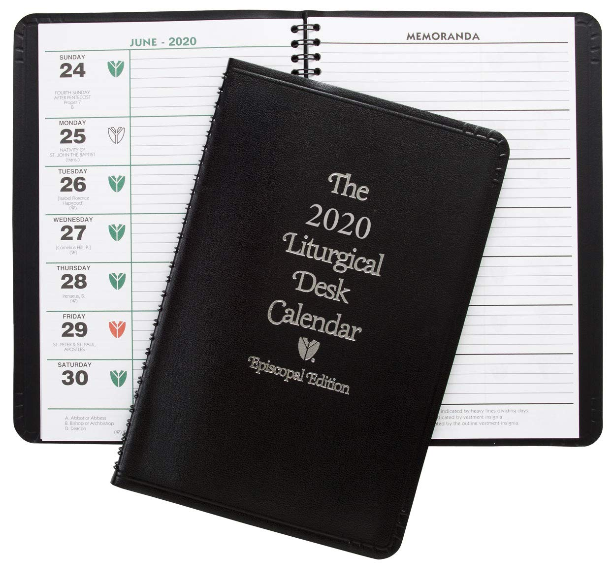 Desk Calendar 2020 Episcopal Liturgical Desk Calendar 2020: Church Publishing