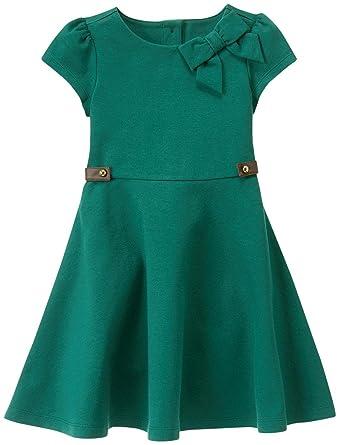 e92694759bac Amazon.com: Janie & Jack Green Equestrian Dress Baby Girls: Clothing