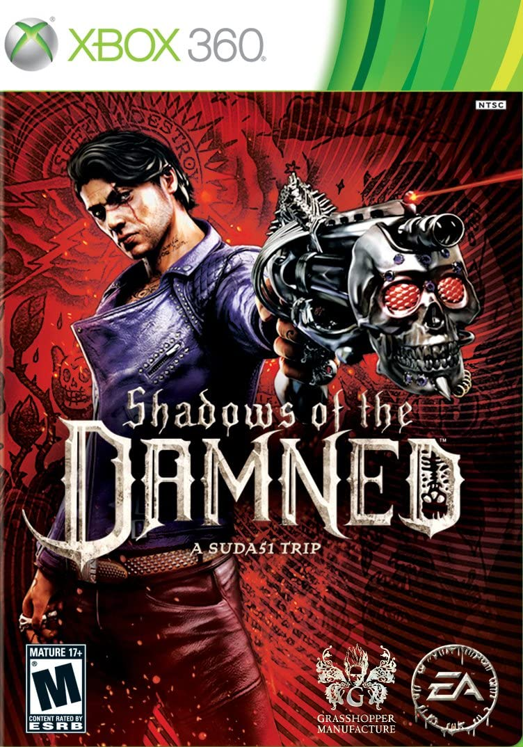 Shadows Of The Damned Xbox 360 Video Games Damn Signature Male White Hd Red