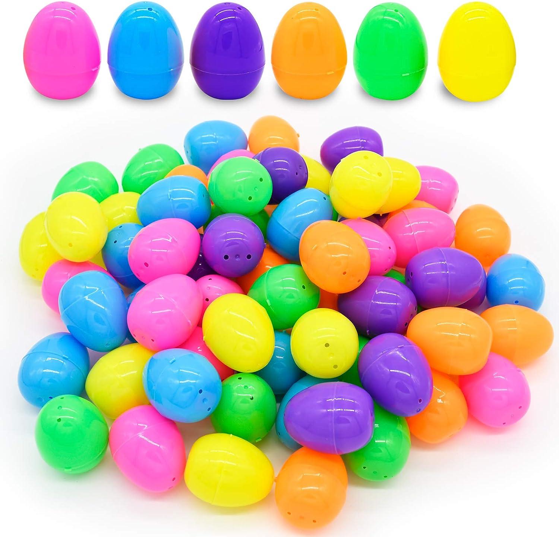 Kissdream Easter Eggs 66 Pack Plastic Easter Eggs Assortment-2.43