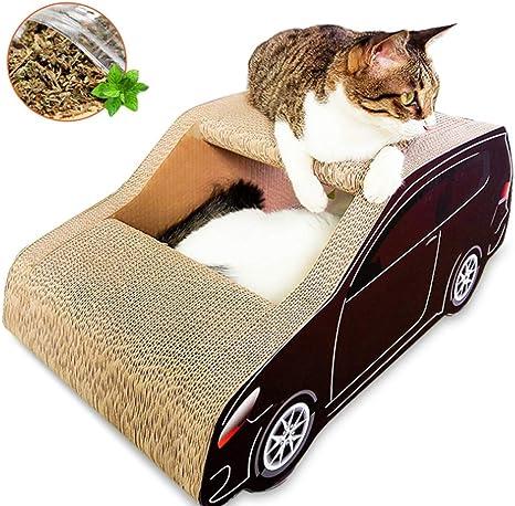 Rascador para gatos, cama para salón, gato, rascador de cartón ...