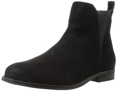 adba9563815ef Amazon Brand - 206 Collective Women's Ballard Chelsea Ankle Boot, Black, ...