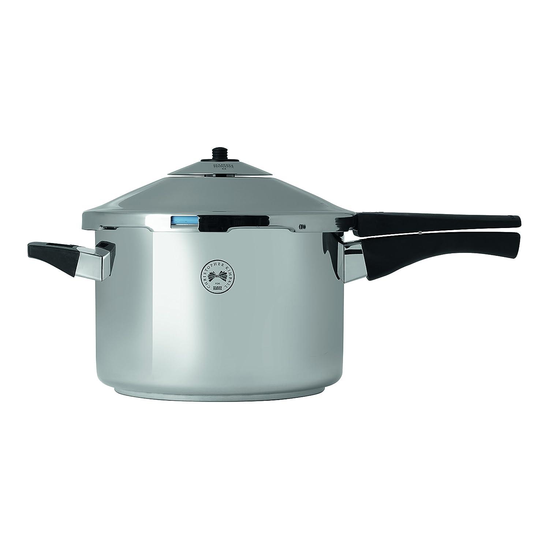 Kuhn Rikon 3339 Christopher Kimball's Milk Street Duromatic Pressure Cooker, 5 quart, Stainless Steel