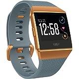 Fitbit Ionic Health & Fitness Smartwatch (GPS) with Heart Rate, Swim Tracking & Music - Slate Blue/Burnt Orange (FB503CPBU-EU)