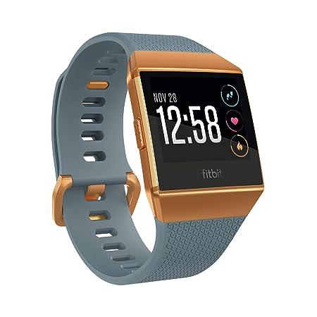 Fitbit Ionic, El Smartwatch Deportivo, Azul Pizarra/Naranja Fuego ...