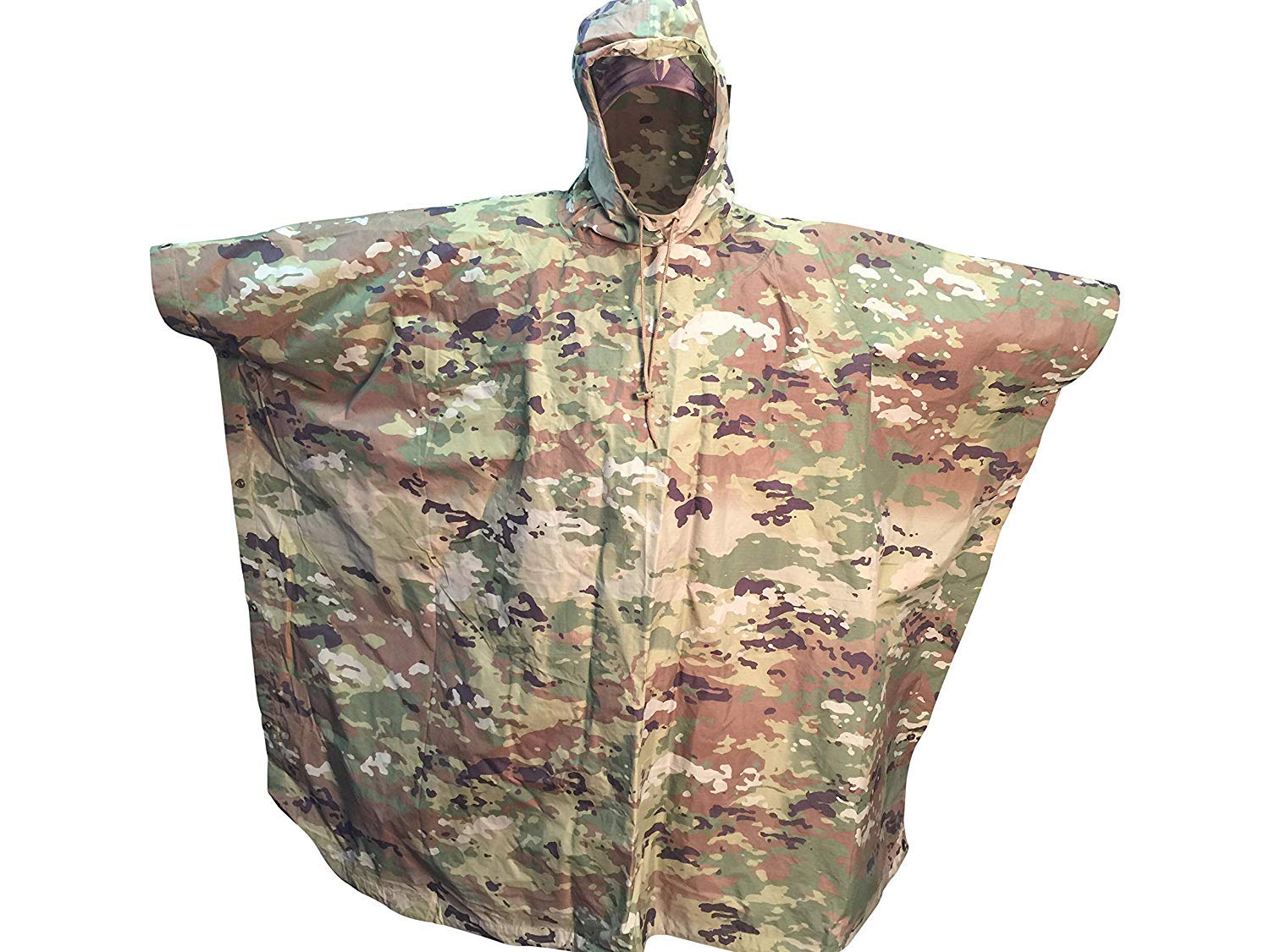 Acme Approved Waterproof Poncho - Military Style OCP Multicam 55'' x 82'' by Acme Approved
