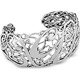 Carolyn Pollack Sterling Silver Signature Cuff Bracelet
