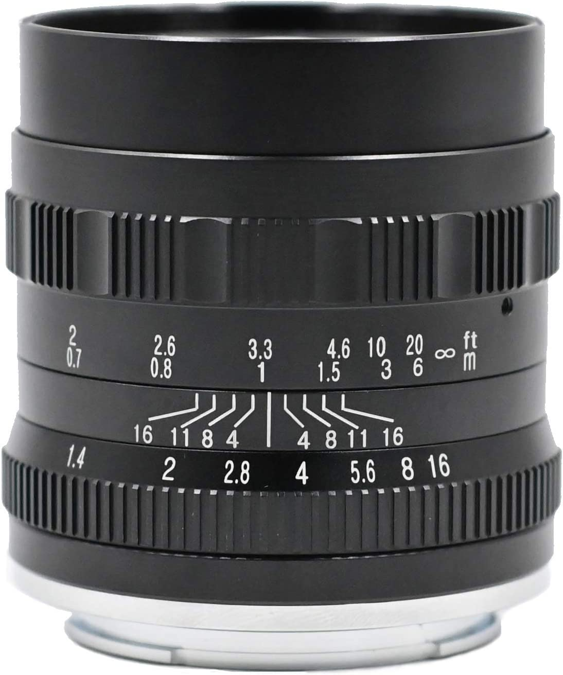 HUABAN 50mm F1.4 Large Aperture Manual Prime Lens for Sony E Mount ...