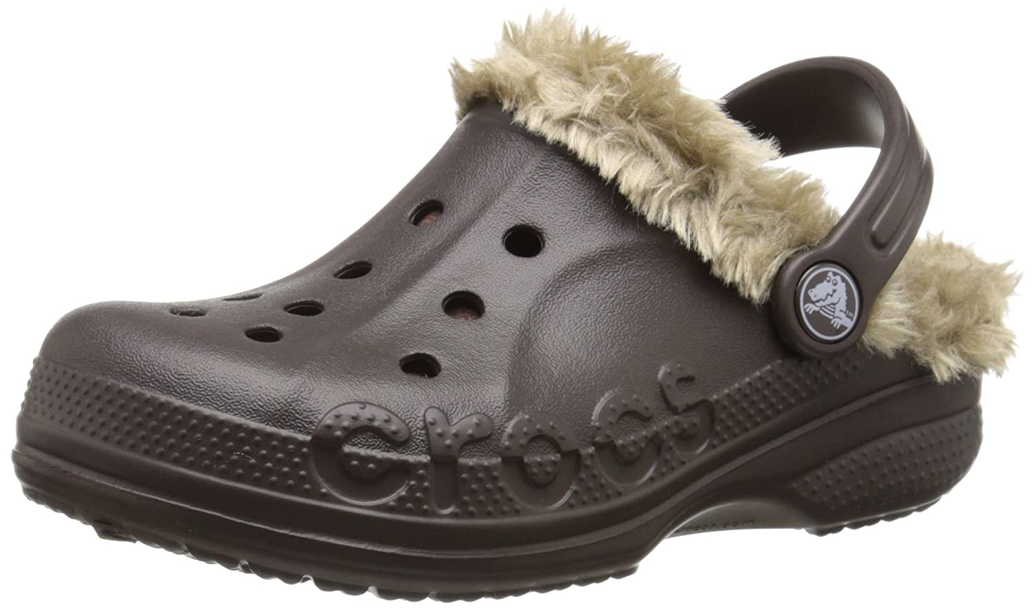 Crocs Kids' Baya Plush Lined Clog crocs 202344
