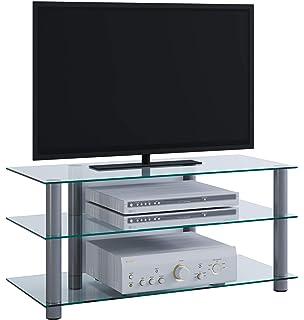 Mobiletto Porta Tv Angolare.Rfiver Mobili Porta Tv Angolare Supporto Per Tv Hifi A Schermo