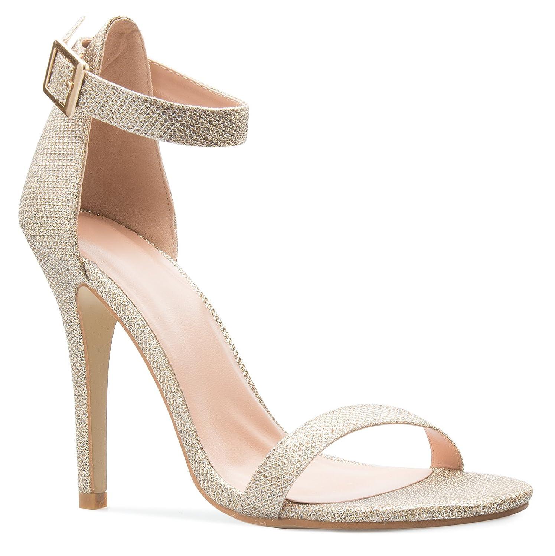 Amazon Com Glaze S Women S Charlie 11 Champagne Glitter