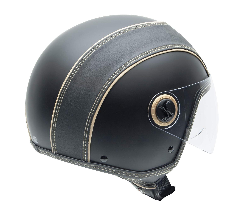 Marrone NZI Casco Moto L