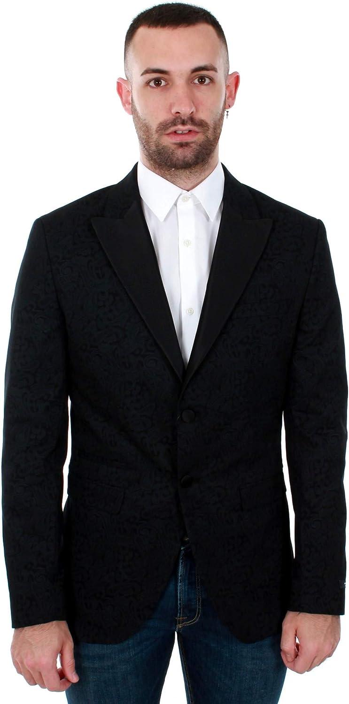 Americana Jack&Jones Hombre Negro 12146072 JPRHUGO Tux Blazer Black