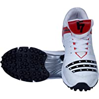 Fashion7 PVC Cricket Shoes for Mens - Lightweight, maximized Grip & Quick Actions (, 7)